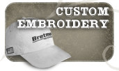 Custom Hat Embroidery by Bretmor Headwear